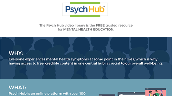 Psych Hub - GetPsychEd! Promotions